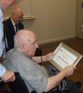 Historian is honoured