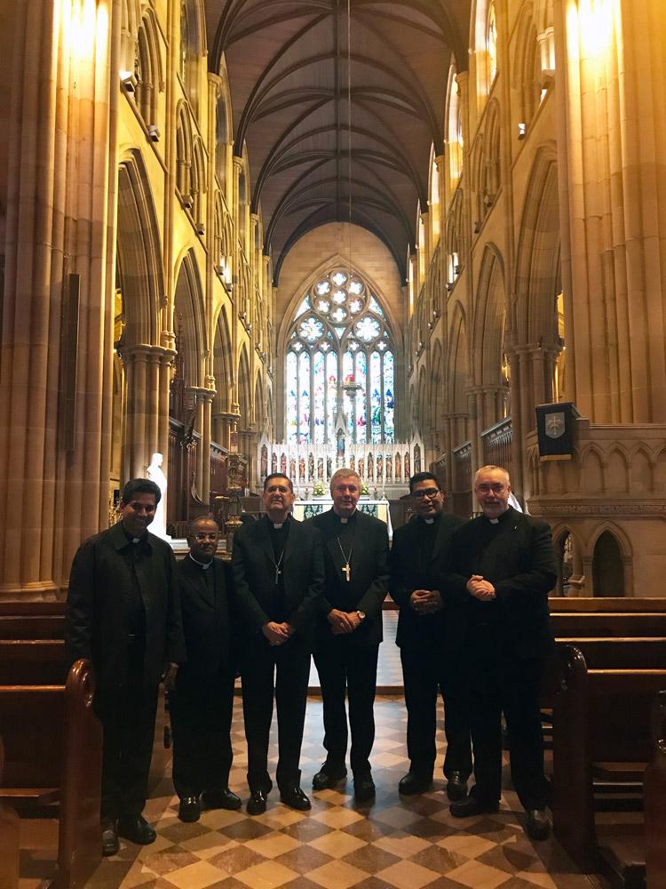 Vatican PCD delegation to Australia.