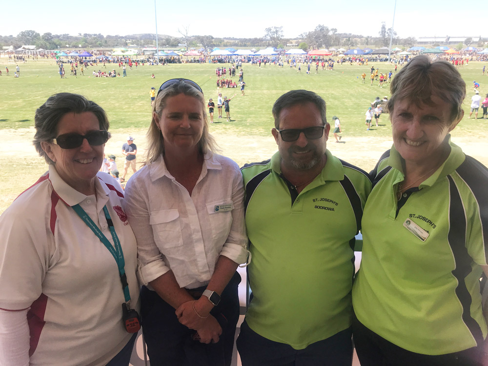 Boorowa touch footy and netball carnival