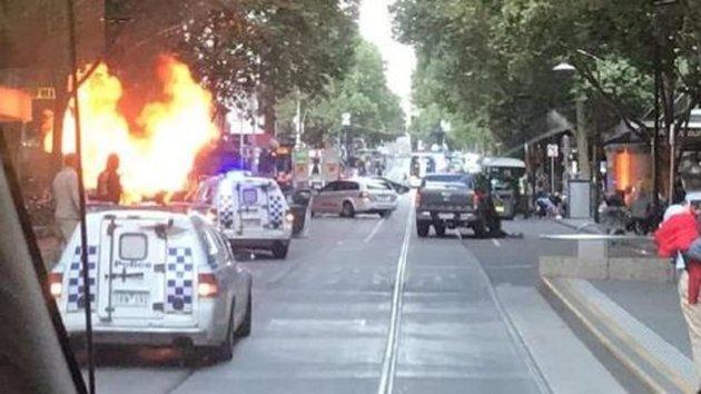 Melbourne Terror Attack
