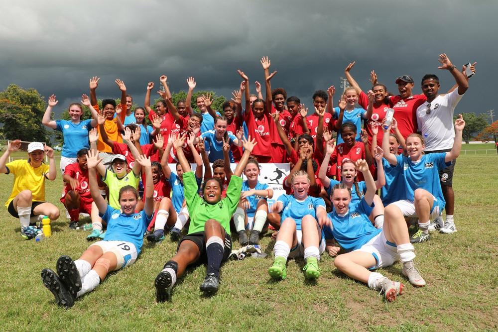 Alyssa Armstrong Fiji Soccer
