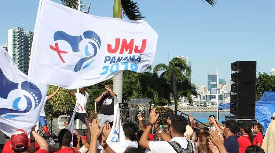 JMJ Panama 2019. Photo: Alexandra Rodriguez.